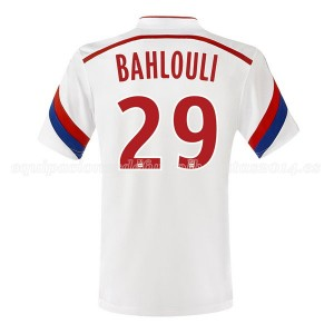 Camiseta de Lyon 2014/2015 Primera Bahlouli