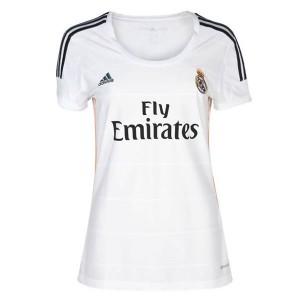 Mujer Camiseta del Real Madrid Primera Equipacion 2013/2014
