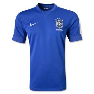 Camiseta Brasil de la Seleccion Segunda 2013/2014