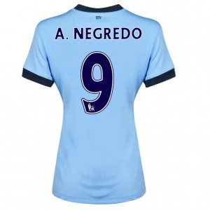 Camiseta Manchester City Dzeko Tercera 2013/2014