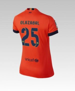 Camiseta del Bartra Barcelona Segunda 2014/2015