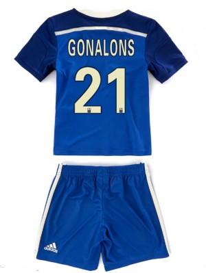 Camiseta nueva Real Madrid Nino Bale Segunda 14/15