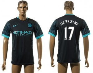 Camiseta del 17# Manchester City Away aaa version
