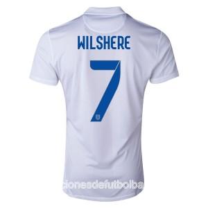 Camiseta Inglaterra de la Seleccion Wilshere Primera WC2014