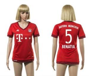 Camiseta Bayern Munich 5 2015/2016 Mujer