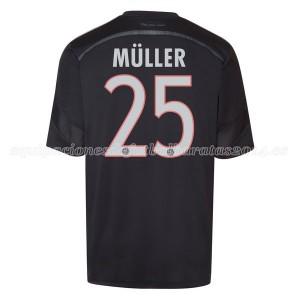 Camiseta nueva Bayern Munich Muller Equipacion Tercera 2014/2015
