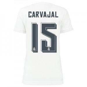 Camiseta Real Madrid CARVAJAL Primera Equipacion 2015/2016 Mujer