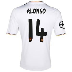 Camiseta del Alonso Real Madrid Primera 2013/2014