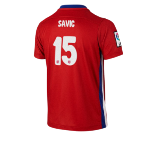 Camiseta Atletico Madrid SAVIC Primera Equipacion 2015/2016