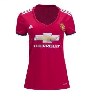 Camiseta Manchester United Primera Equipacion 2017/2018 Mujer