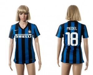 Camiseta nueva Inter Milan Mujer 18 2015/2016
