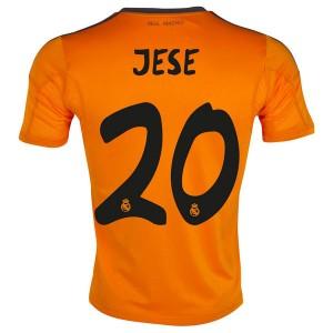 Camiseta Real Madrid Jese Tercera Equipacion 2013/2014