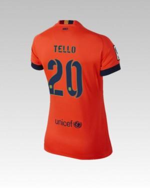 Camiseta nueva del Barcelona 2013/2014 Equipacion Alexis Tercera