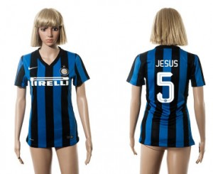 Mujer Camiseta del 5 Inter Milan 2015/2016