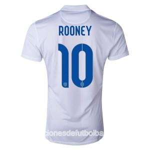 Camiseta del Rooney Inglaterra de la Seleccion Primera WC2014