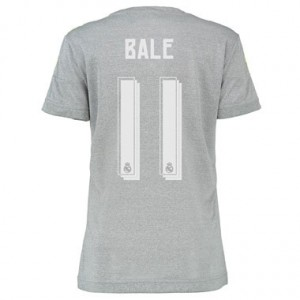 Mujer Camiseta del BALE Real Madrid Segunda Equipacion 2015/2016