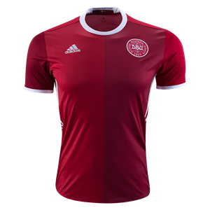 Camiseta del Dinamarca Primera Equipacion 2016