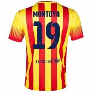 Camiseta nueva Barcelona Montoya Equipacion Segunda 2013/2014
