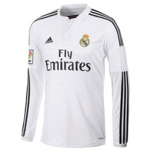 Camiseta Real Madrid ML Primera Equipacion 2014/2015