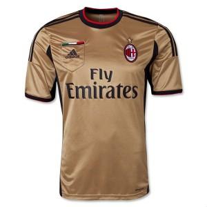 Camiseta de AC Milan 2013/2014 Tercera Tailandia
