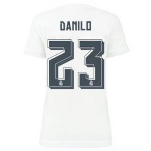 Camiseta nueva Real Madrid Mujer Danilo Equipacion Primera 2015/2016