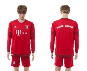 Camiseta de Bayern Munich 15/16 Primera Manga Larga