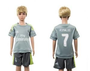 Camiseta de Real Madrid 2015/2016 Away 7 Niños