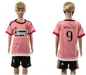Camiseta nueva del Juventus 2015/2016 9 Niños