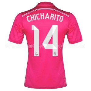 Camiseta de Real Madrid 2014/2015 Segunda Chicharito Equipacion
