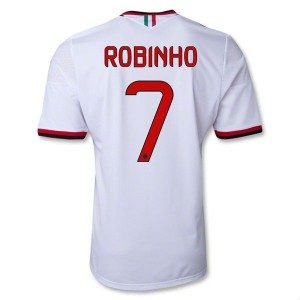Camiseta del Robinho AC Milan Segunda Equipacion 2013/2014