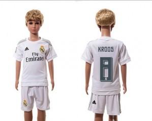 Camiseta de Real Madrid 2015/2016 Home 8 Niños