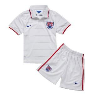 Camiseta nueva del EE.UU de la Seleccion 2014 Nino Primera