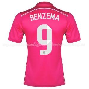 Camiseta de Real Madrid 2014/2015 Segunda Benzema Equipacion