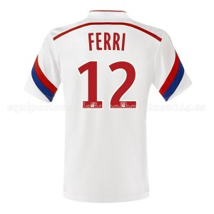 Camiseta Lyon Ferri Primera 2014/2015