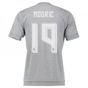 Camiseta nueva del Real Madrid 2015/2016 Equipacion Numero 19 MODR Segunda