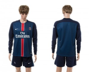 Camiseta del Paris Saint Germain Primera Manga Larga 15/16