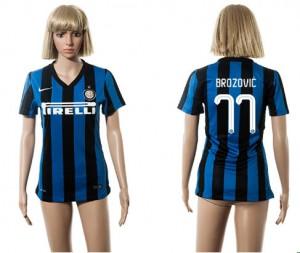 Camiseta nueva del Inter Milan 2015/2016 77 Mujer