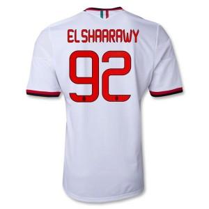 Camiseta del El Shaarawy AC Milan Segunda Equipacion 2013/2014