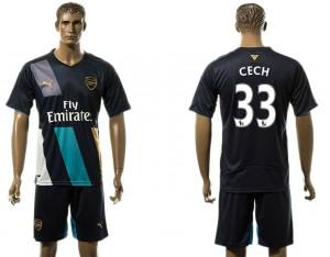 Camiseta nueva del Arsenal 33# Away