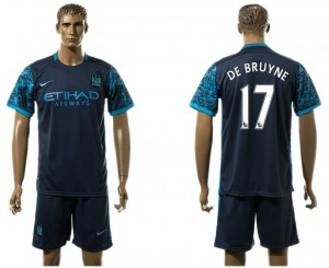 Camiseta Manchester City 17# Away