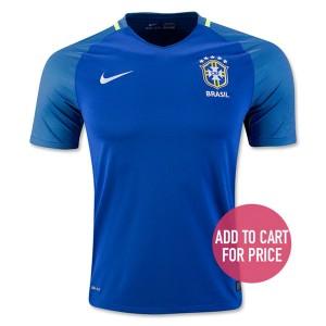 Camiseta nueva del Brasil 2016 Equipacion Segunda