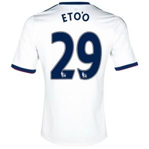 Camiseta Chelsea Eto'o Segunda Equipacion 2013/2014