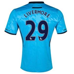 Camiseta nueva Tottenham Hotspur Livermore Segunda 2013/2014