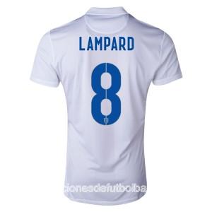 Camiseta de Inglaterra de la Seleccion WC2014 Primera Lampard