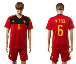 Camiseta nueva Belgium 6# 2015-2016