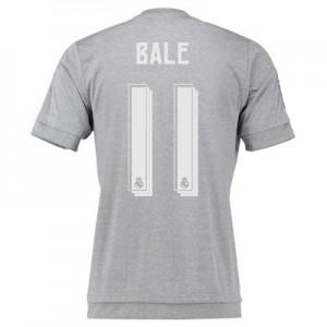 Camiseta del Numero 11 BALE Real Madrid Segunda Equipacion 2015/2016