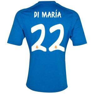Camiseta del Di Maria Real Madrid Segunda Equipacion 2013/2014