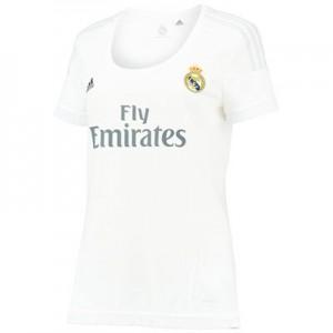 Camiseta de Real Madrid 2015/2016 Primera Equipacion Tailandia Mujer