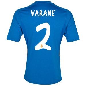 Camiseta Real Madrid Varane Segunda Equipacion 2013/2014