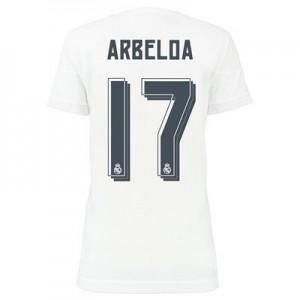 Mujer Camiseta del ARBELOA Real Madrid Primera Equipacion 2015/2016